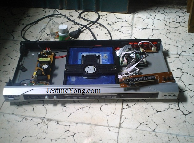 dvd player repair