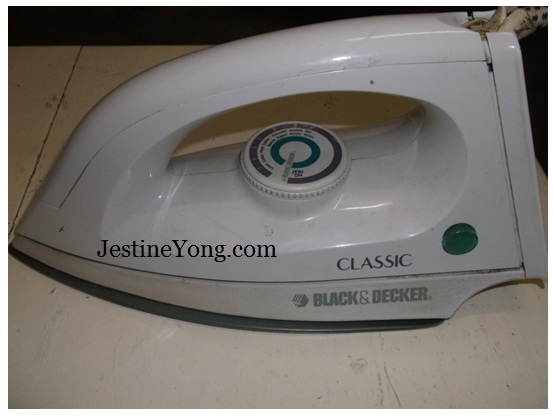 electric iron repair