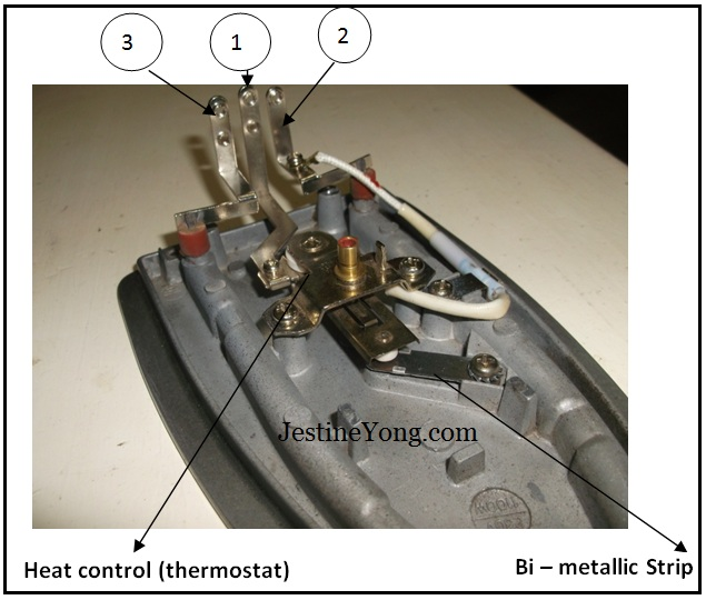 electric iron repairing