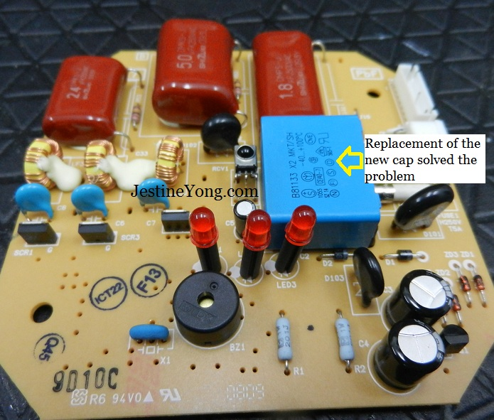 Panasonic ceiling fan repaired electronics repair and technology panasonic ceiling fan board repairing keyboard keysfo Images