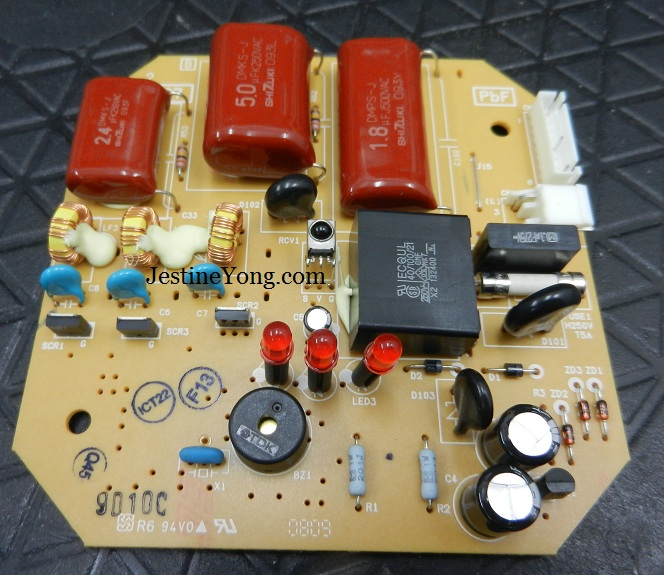 Panasonic ceiling fan repaired electronics repair and technology panasonic ceiling fan board keyboard keysfo Images