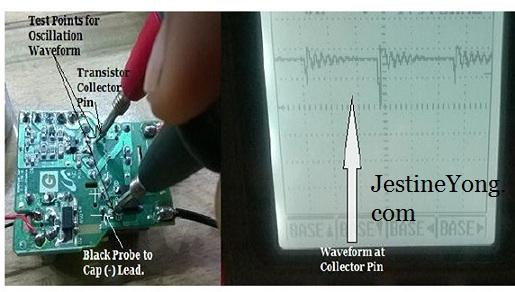 voltage testing points