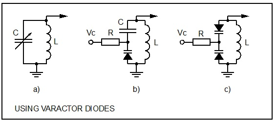 Image result for varicap diode circuit