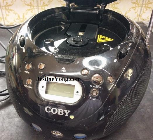 coby dvd player repair