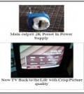 crt tv problem repairings