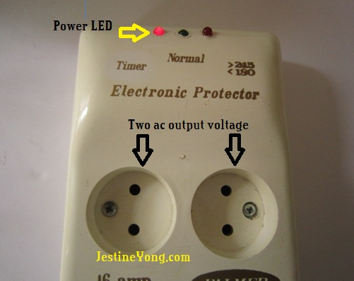 electronic protector
