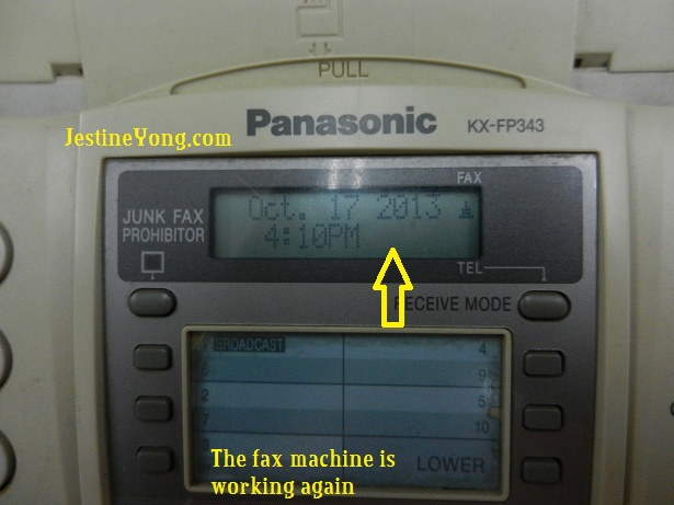 fax machine repair1