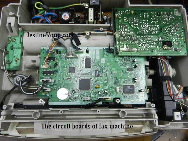 panasonic fax machine repair