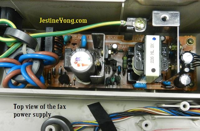fax machine power supply