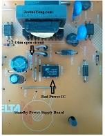 samsung lcd tv repairings