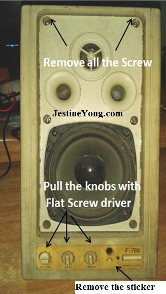computer speaker repair
