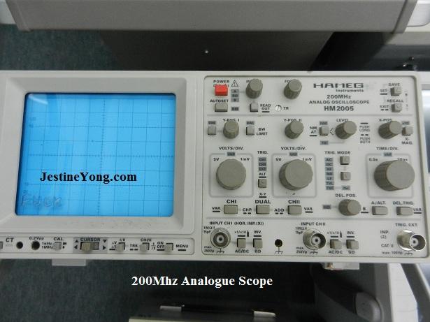 200mhz oscilloscope