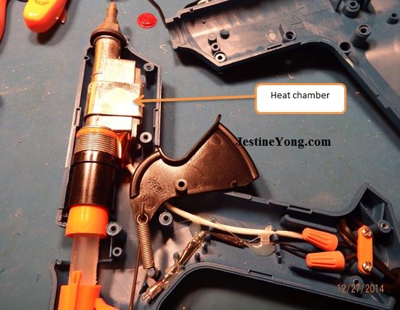 glue gun repairing