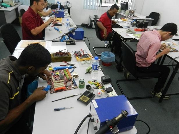 kursus asas elektronik malaysia