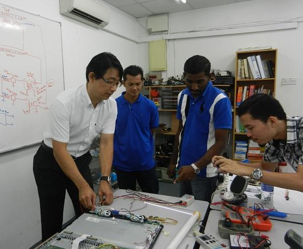kursus asas kejuruteraan elektronik