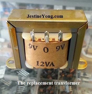 center tapped transformer 9 0 9v