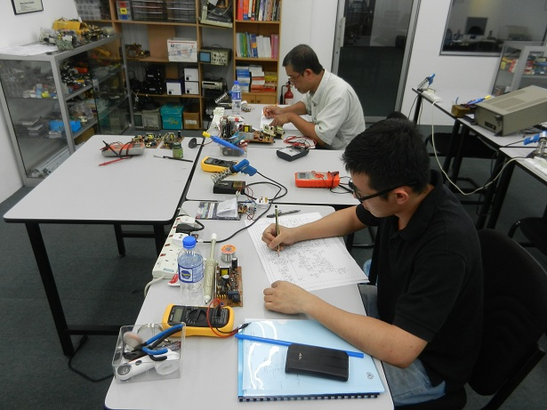 sijil membaiki elektronik