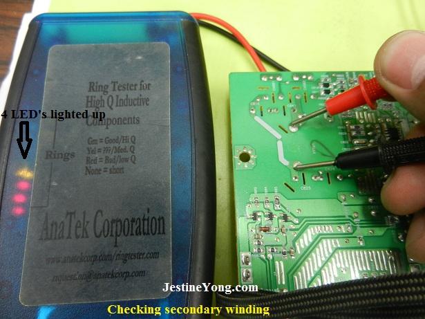 inverter transformer testing