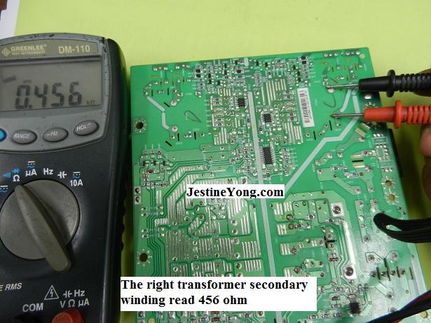 lcd monitor transformer tests