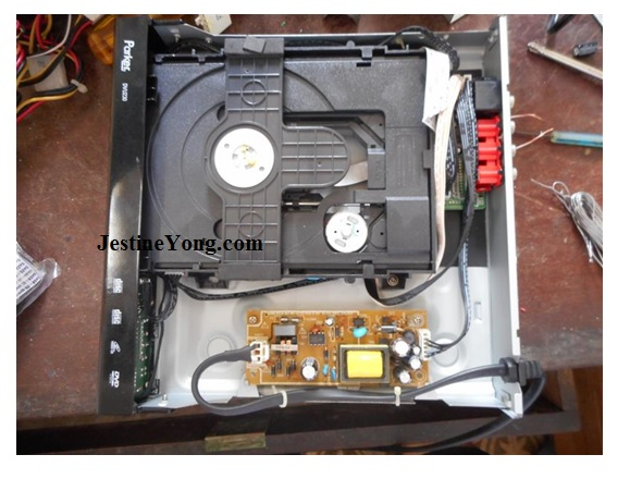 dvd player repairing