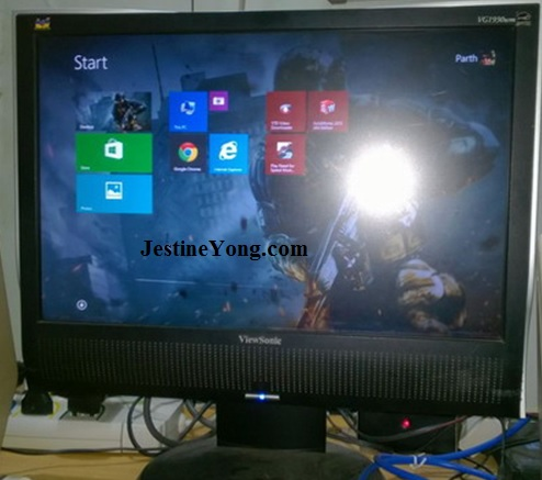 lcd monitor repaired