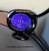 volt and temperature meter