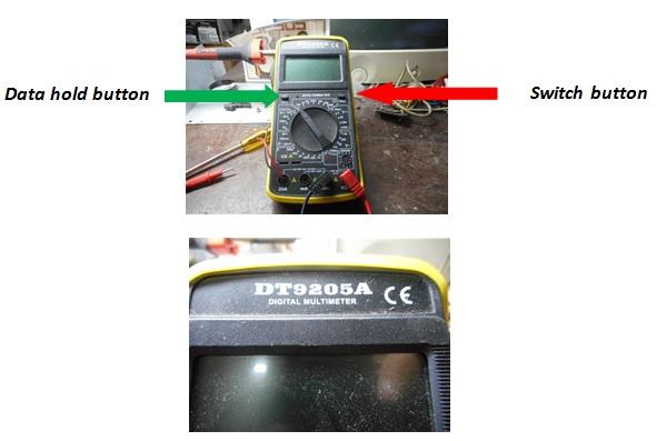 Digital meter repair