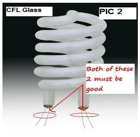 cfl  bulb repairing