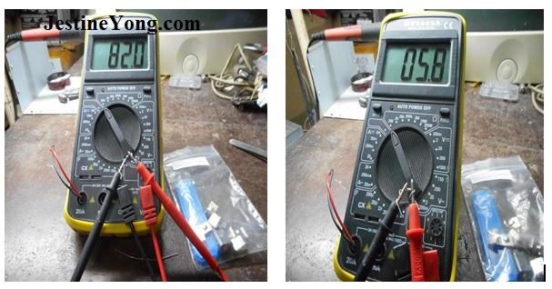 digital meter repairing