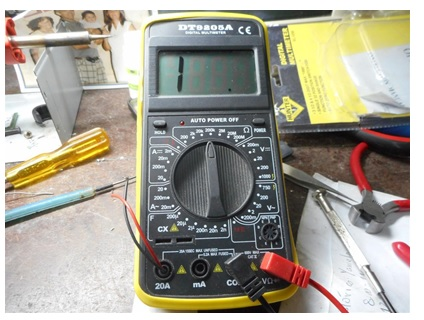 digital multimeter repairing
