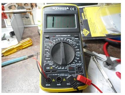 digital multimeter repairing