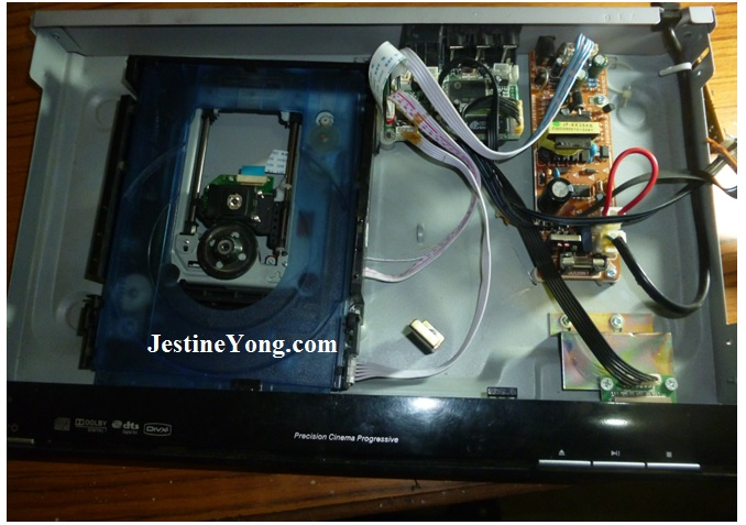 how to repair dvd player