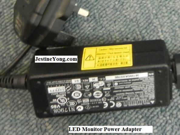 led monitor power adapter