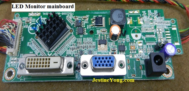 led monitor mainboard