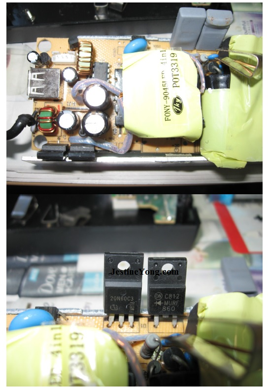 power supply ic burn5