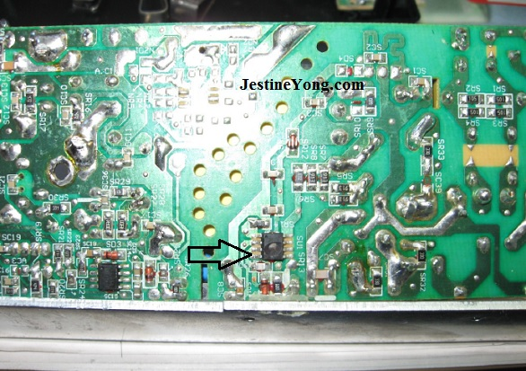 Burnt Power IC In Power Supply Identified | Electronics