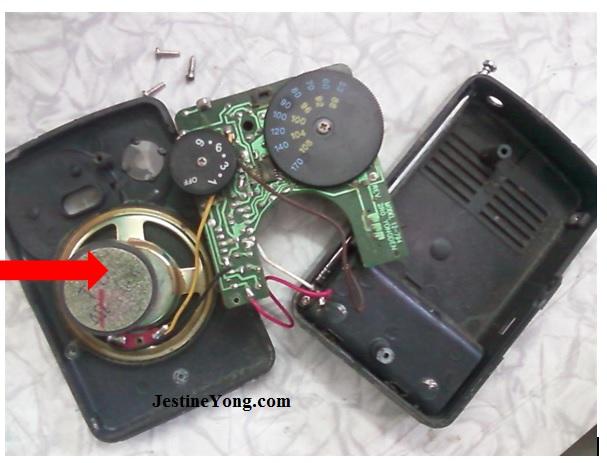 radio receiver repairing