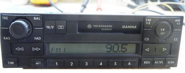 Volkswagen Gamma BVX 1JO 035 186 E repairs