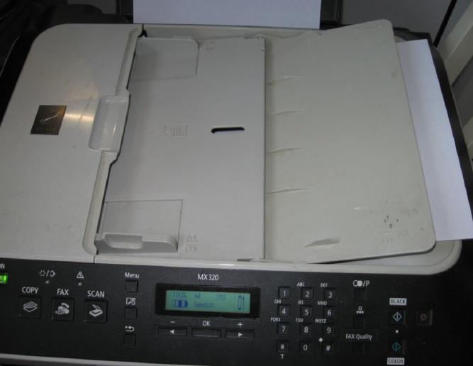 mx320 printer repair