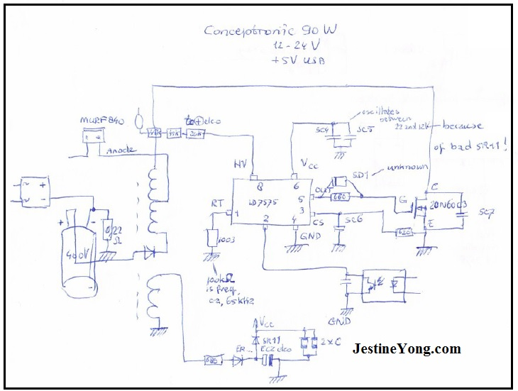 About Conceptronic 90w Power Supply