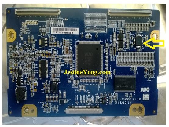 samsung lcd tcon board repair