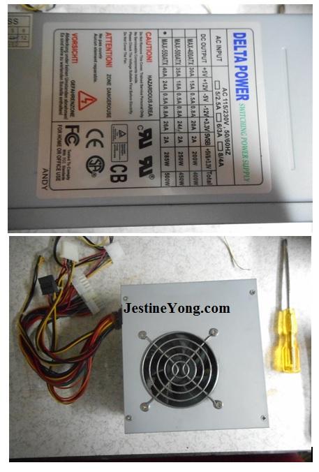 atx 500watt repair