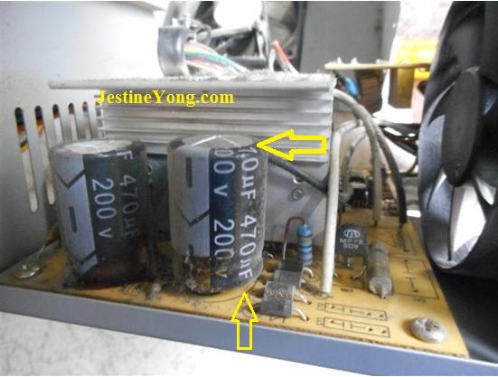 DELTA ATX 500Watt Power Supply Repaired | Electronics Repair And ...