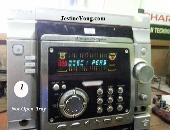 singer dvd hifi player repair