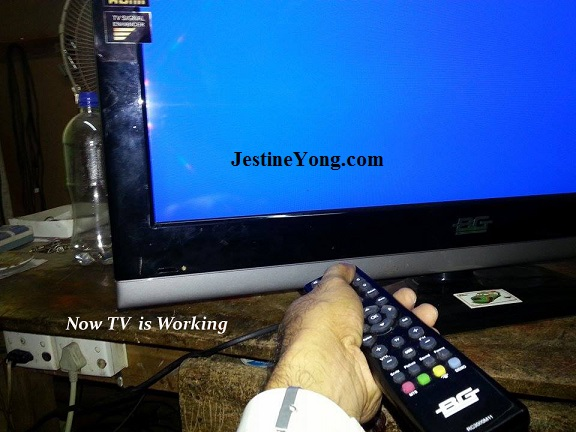 lcd tv repaired