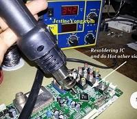 how to repair lcd tv