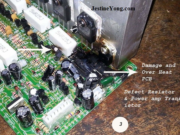 repairing amp speaker