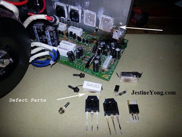 speaker system repair