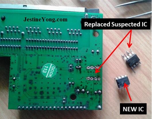 network switch repairing