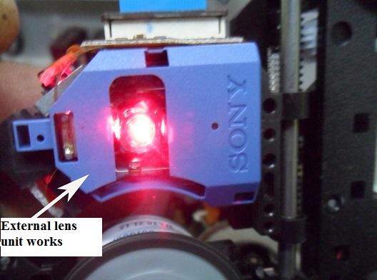 dvd repair lens